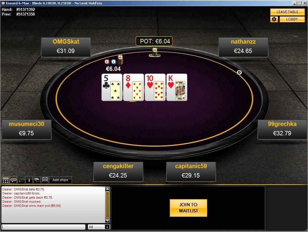 Poker pro 365 mobile