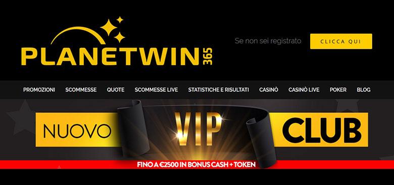 ВИП-система на PlanetWin365 Poker