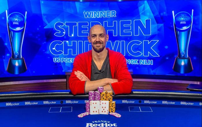 Stiven Chidvik- wiiner of US Poker Open 2019